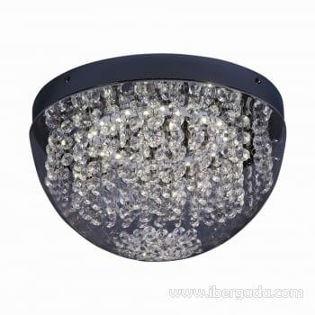 Plafón Crystal Euphoria 2 LED