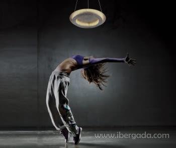 Colgante/Plafón Rodium Plata LED - 1