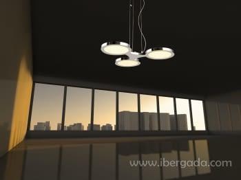Colgante Drei LED