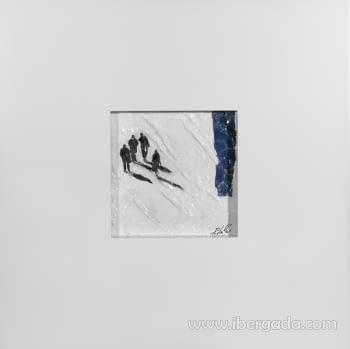 Cuadro Bocetos 03 (70x70)