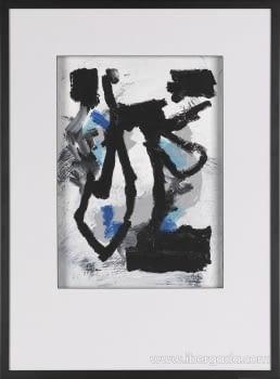 Cuadro Black Colors 02 (110x80)