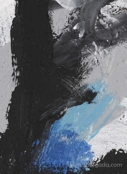 Cuadro Black Colors 02 (110x80) - 2