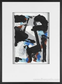 Cuadro Black Colors 01 (110x80)