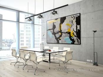 "Cuadro Black Colors Marco ""L"" (150x100) - 1"