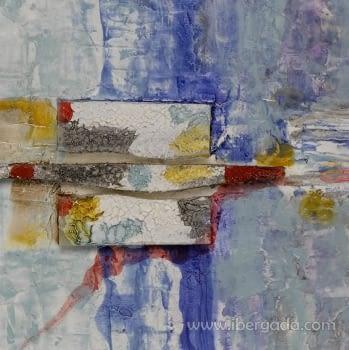 Cuadro Blues I (70x70) - 2