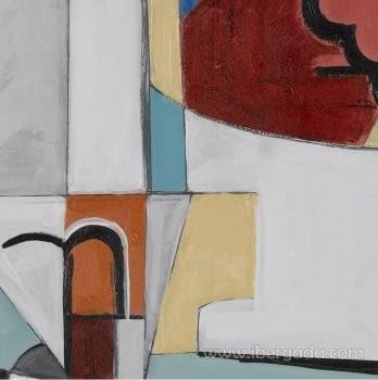 Cuadro Bodegon Cubista 02 (80x80) - 3