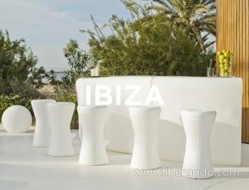 Barra de Bar Ibiza 120 (Sin Luz)