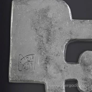 Cuadro Chillida Agua 06 (80x80) - 2