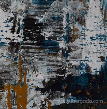 Cuadro Javea I Azul (122x122) - 3