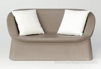 Sofa Menorca Color (147x56x73)