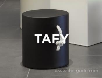 Taburete Cilindro Tafy Color (35x35x38)
