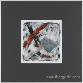 Cuadro Cross II (70x70)