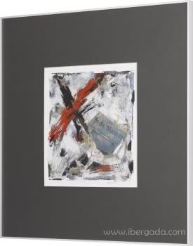 Cuadro Cross II (70x70) - 1