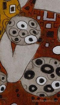 Cuadro Pareja Gustav Colores J/2 (130x70) - 3
