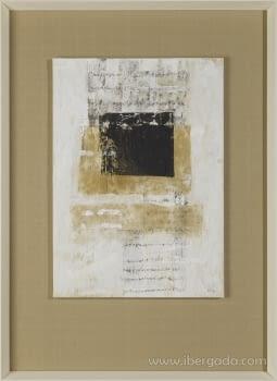 Cuadro Carta Blanca III (110x80) - 1