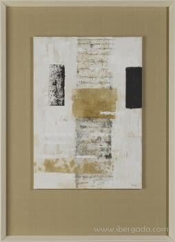 Cuadro Carta Blanca IV (110x80) - 1