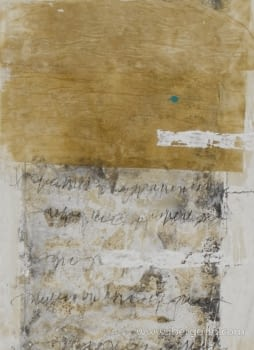 Cuadro Carta Blanca IV (110x80) - 3