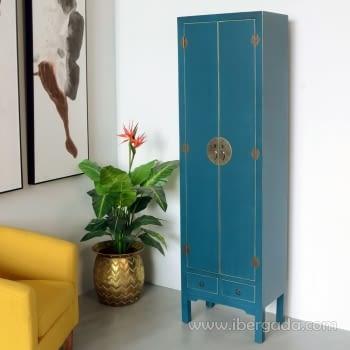 Armario Oriente Azul 2 Puertas - 1