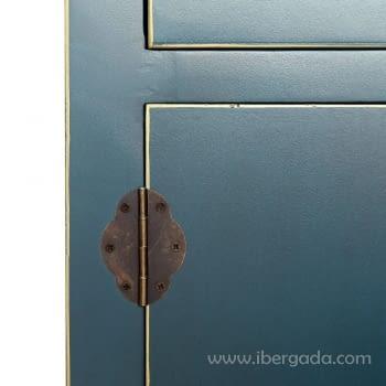 Armario Oriente Azul 2 Puertas - 3