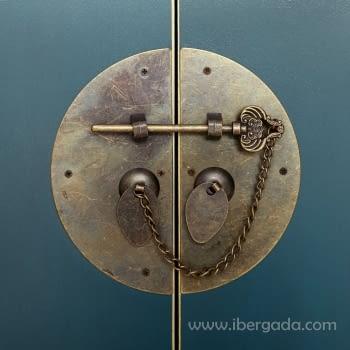 Armario Oriente Azul 2 Puertas - 4