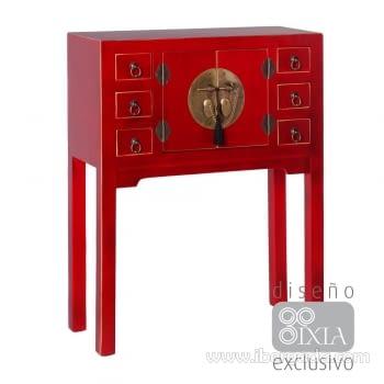 Recibidor Oriente Rojo 2 Puertas