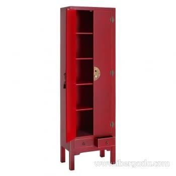 Armario Oriente Rojo 2 Puertas - 1