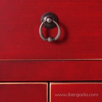 Armario Oriente Rojo 2 Puertas - 2