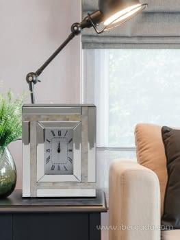 Reloj de Sobremesa Nacar Rectangular (23x30)
