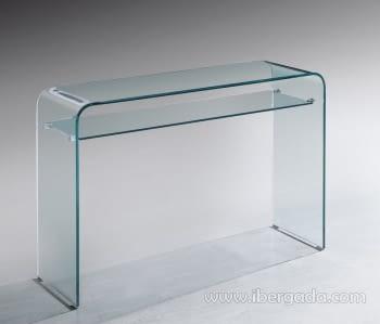 Consola Cristal Meryl 110