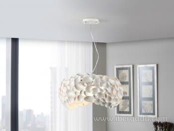 Lámpara Narisa Blanca Grande