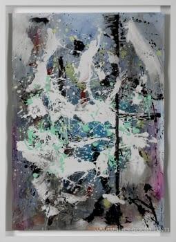 Cuadro Rain I (110x80)
