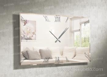 Reloj de Pared Murano Rectangular (150x90)