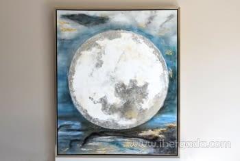 Cuadro Luna (120x100)