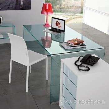 Mesa Escritorio Cristal Concord 150