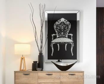 Cuadro Espejo Chair (120x80)