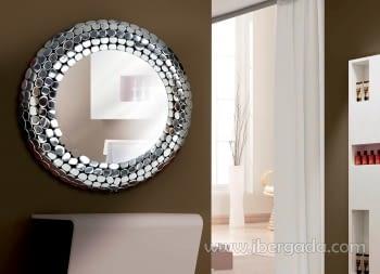 Espejo Serpa Aluminio (81x81)