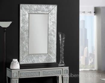 Espejo Adara Pan de Plata (90x60)