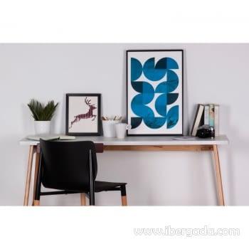 Cuadro SNAKE Marco Negro (40x60) - 2