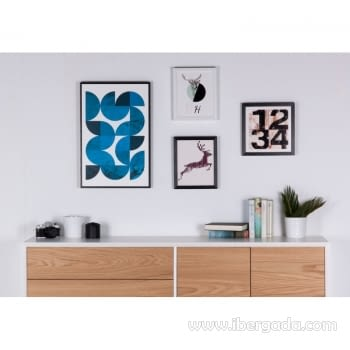 Cuadro SMALL H Marco Negro (25x30) - 1