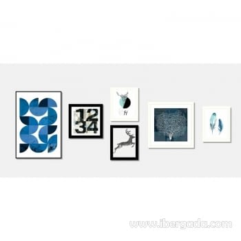 Cuadro SMALL H Marco Negro (25x30) - 3
