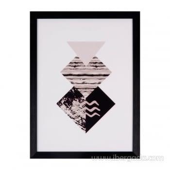 Cuadro DIAMOND Marco Negro (30x40)