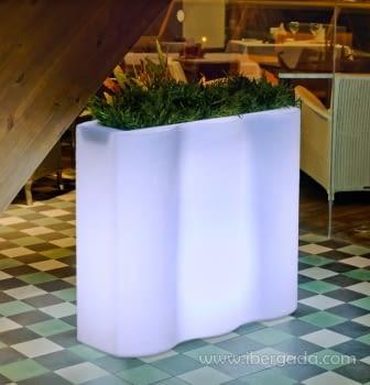 Macetero Palmera Light (90x37x79)