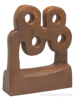 Escultura Mar Óxido Cobre - 1