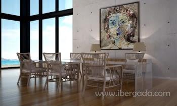 Cuadro Antonella (150x150) - 1