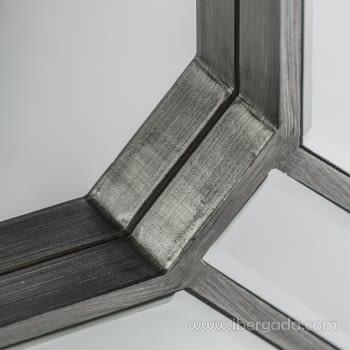 Espejo Aristas Silver (90x70) - 1