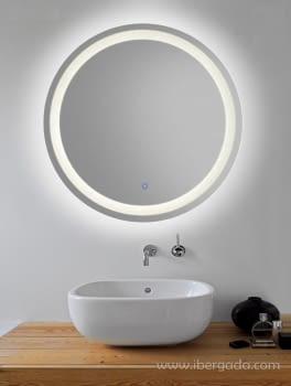 Espejo Jupiter LED Redondo (70x70) - 1
