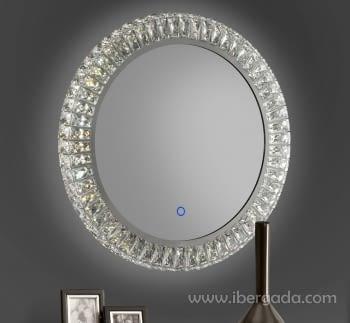 Espejo Neptuno LED Redondo (60x60)