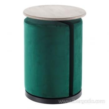 Conjunto Mesa-Puff Verde