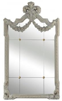 Espejo Clasic I Blanco Rozado  (103x60)