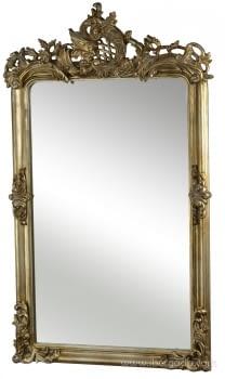 Espejo Clasic II Oro (126x76)